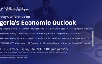 EA's Nigeria's Economic Outlook banner